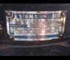 Kalové čerpadlo Sigma 80-GFHU