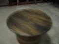 Stůl,pult ve tvaru sudu